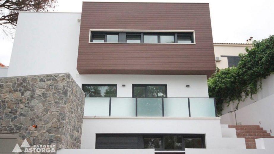 tarimas exteriores para revestimiento de fachadas