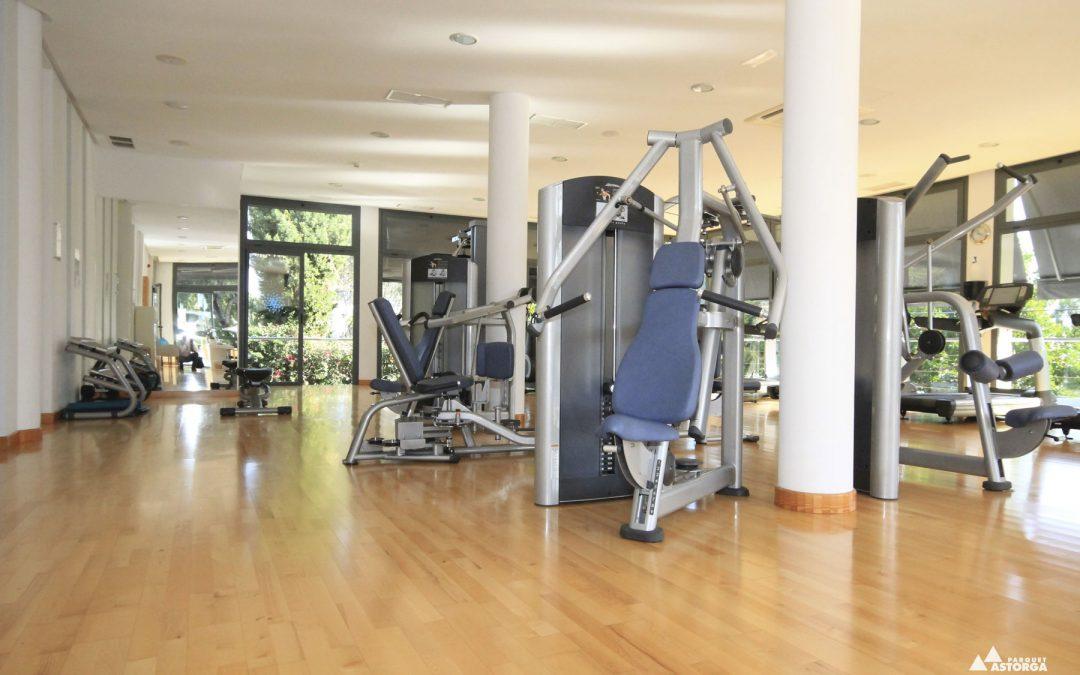 El suelo perfecto para un gimnasio