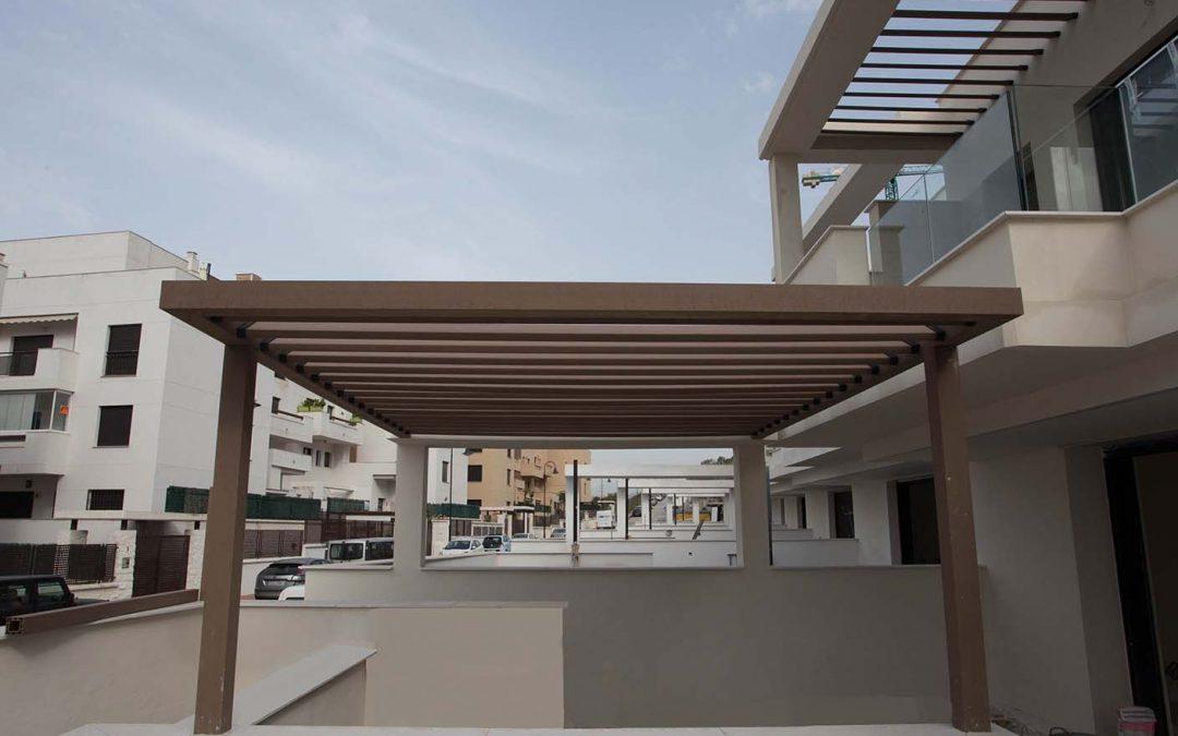 Pérgolas en Málaga: Parquet Astorga
