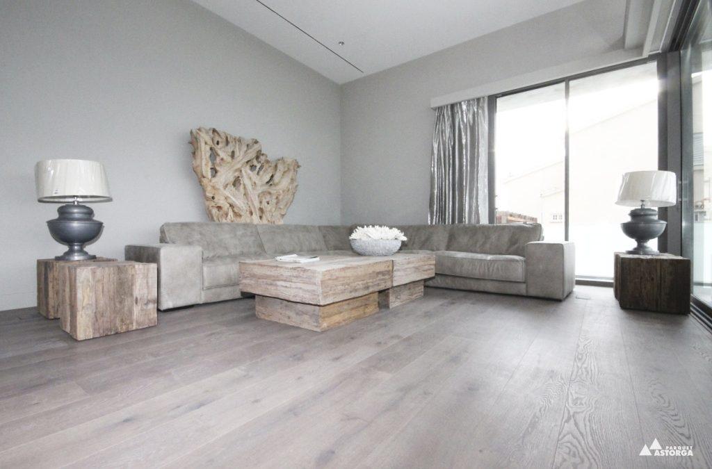 Combinaciones irresistibles de suelos de parquet y paredes