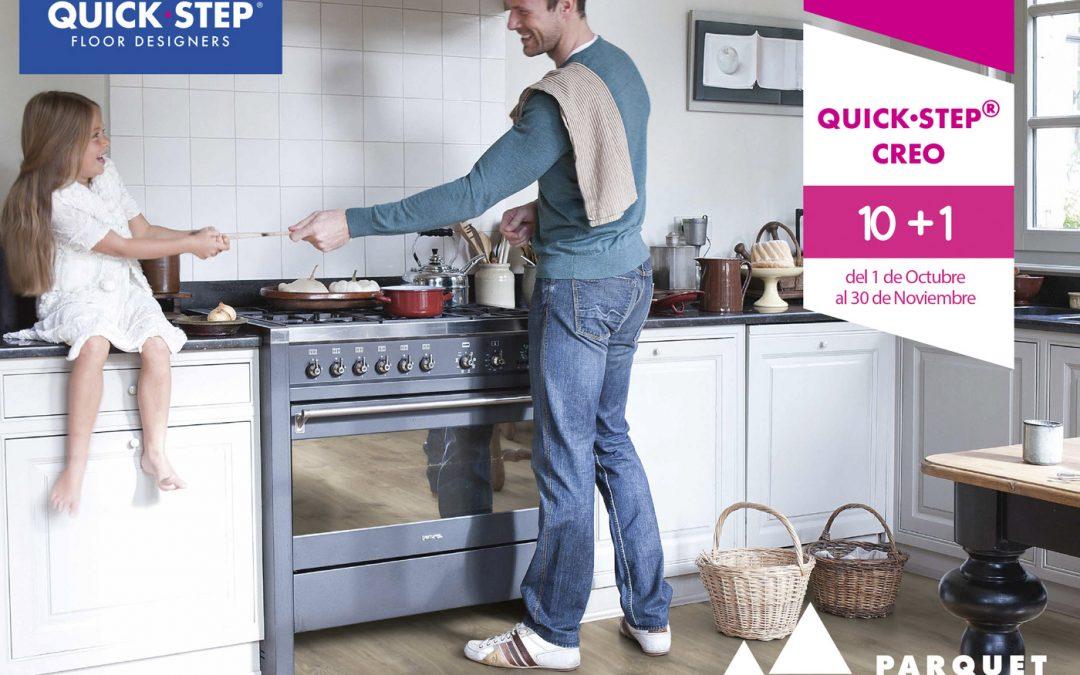 Promoción 10+1 para los suelos laminados Quick – Step