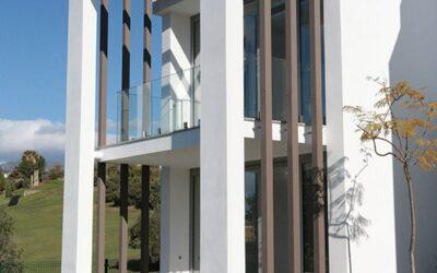 Materiales reciclables en exteriores