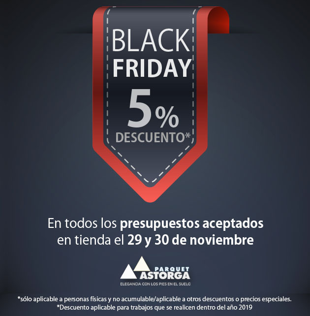 Black Friday en Málaga, con Parquet Astorga