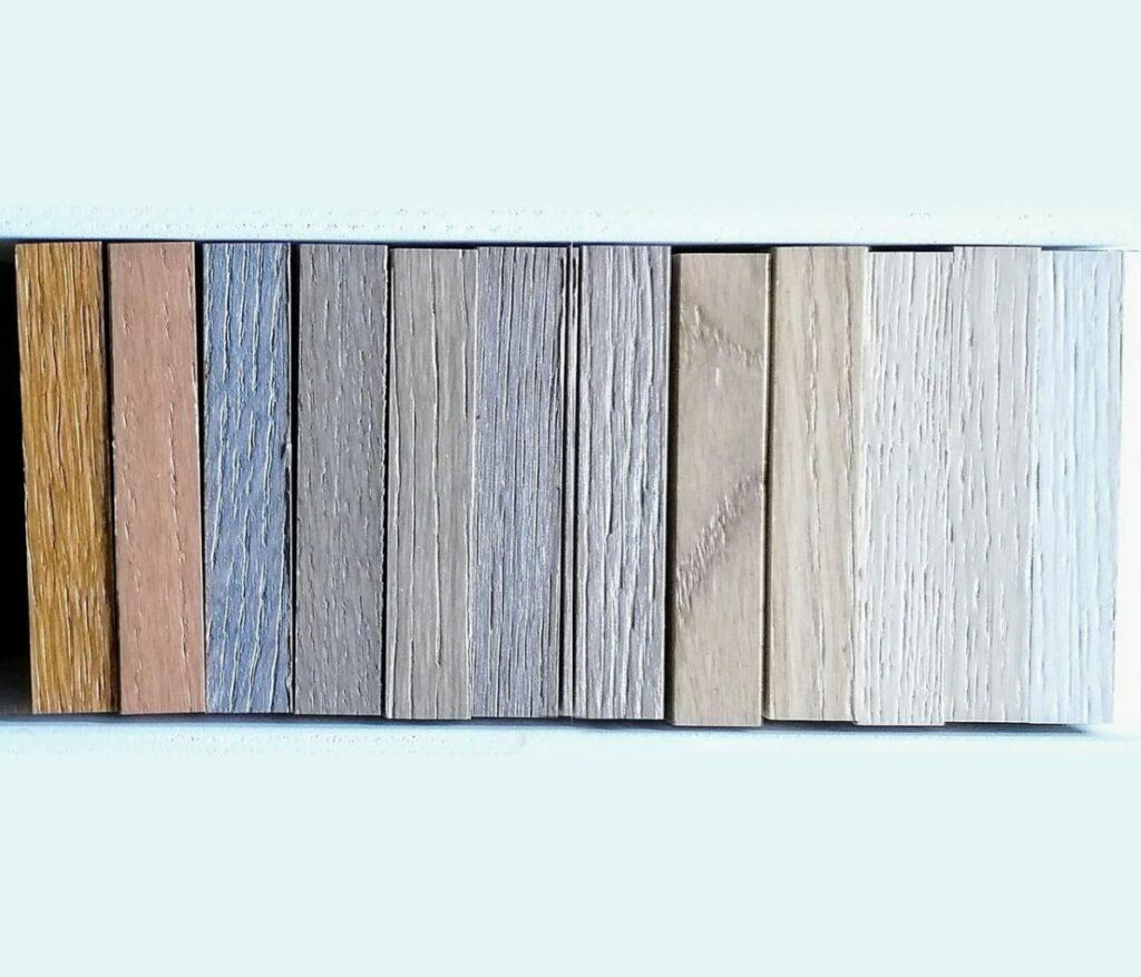 tonalidades en suelos de parquet